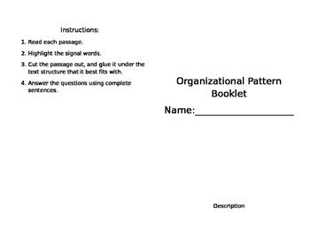 Text Structure Practice