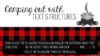 Text Structure Practice HyperDoc