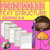 Text Structure Practice Printables