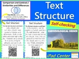 Text Structure Task Cards with QR Codes {Weather Themed}