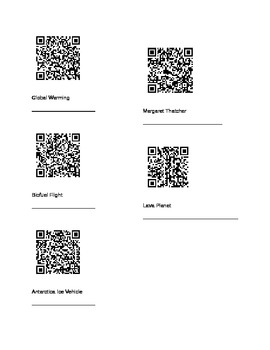 Text Structure QR Codes