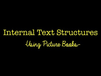 Text Structure Review Using Picture Books