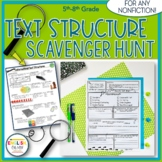 Text Structure Scavenger Hunt