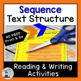 Text Structure Middle School Sequence