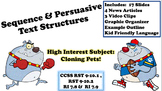 Text Structure Sequence Persuasive Narrative Test Prep Science Process 6 7 8 9