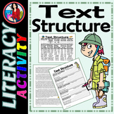 Text Structure Summarize Paraphrase Cite the Evidence Activities Cody's Trip