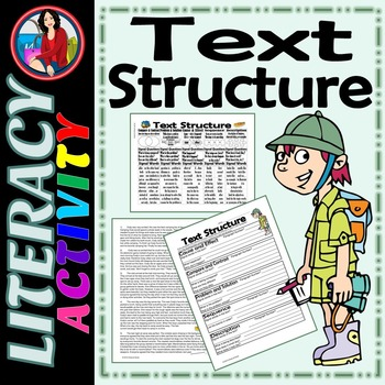 Text Structure, Summarize, Paraphrase, Cite the Evidence A