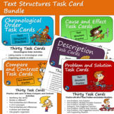 Text Structure Task Card Bundle