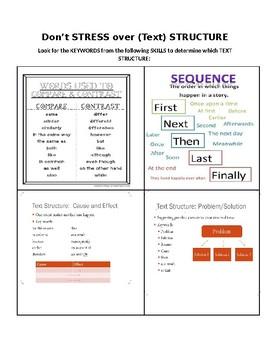 Text Structure- Test Preparation