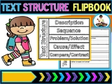 Text Structure Vocabulary Flipbook (Anchor Chart Included)