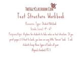 Text Structure Workbook