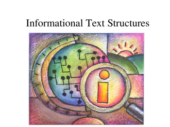Text Structure and Non-Fiction Text