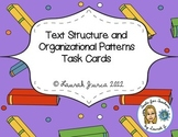Text Structure and Organization Activity Cards