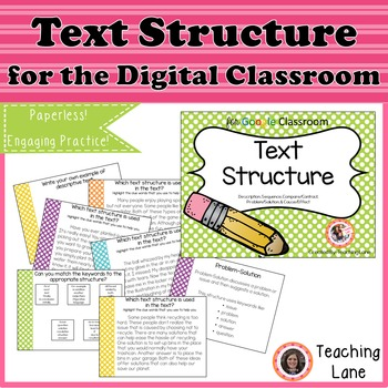 Text Structure for the Digital Classroom