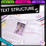 Text Structure in Nonfiction- 4th Grade RI.4.5