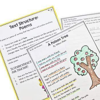 Text Structure in Stories, Plays, & Poems- RL.3.5