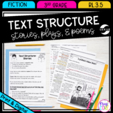 Text Structure in Stories Plays Poems - 3rd Grade RL.3.5