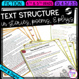 Text Structure in Stories, Poems, & Plays- 4th & 5th Grade RL.4.5- RL.5.5