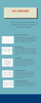 Text Structure infographic