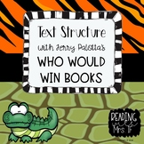 Text Structure using the Who Would Win books