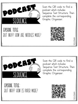 Text Structure with Podcasts