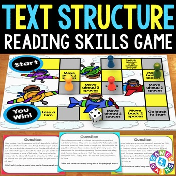 Text Structures Activity: Text Structures Reading Game