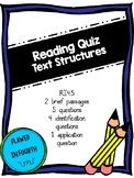 Text Structures Quiz