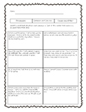 Text Structures Assessment