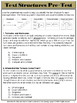 Text Structures Assessments - Common Core Alignment