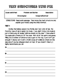 Text Structures (HOLIDAY THEME) + OREO Opinion Writing Response