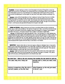 Text Structures Handout