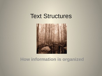 Text Structures II