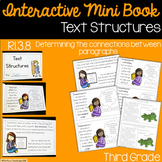 Text Structures Interactive Mini Book {RI.3.8}