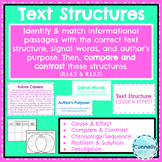 Informational Text Structures Activity - Sort, Identify & Compare and Contrast