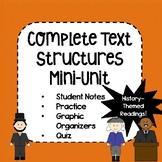 Text Structures Mini-Unit