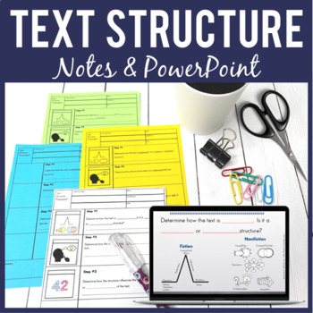 Text Structures - PowerPoint & Pixanotes®