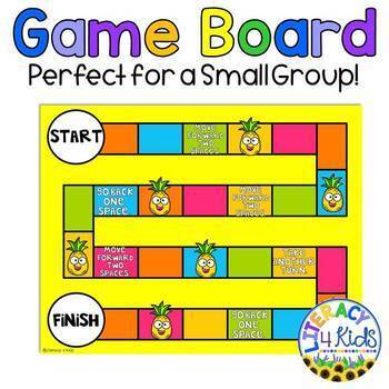 Text Structures Printable Board Game, Anchor Charts, and More! (Fourth Grade)