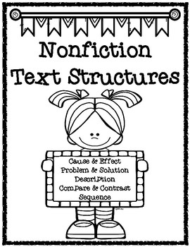 Text Structures Printables Pack
