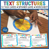 Text Structures Task Cards