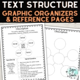 Text Structures--Reference Pages and Organizers (Anchor St