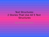 Text Structures Story