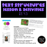 Text Structures:  Supports, Posters, Practice
