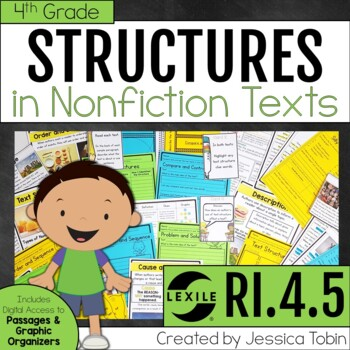 Text Structures in an Informational Text RI4.5