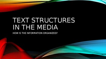 Text Structures in the Media