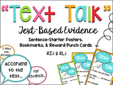 Text Talk: Text-based Evidence Posters and Printables
