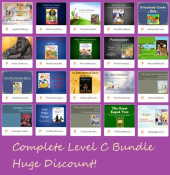 BUNDLE Text Talk Level C, 20 Lessons PowerPoint Collaborative Conversations