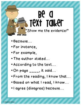 Text Talker Evidence Based Terms Poster