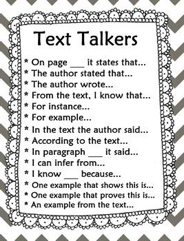 Text Talker Poster *Editable*