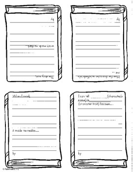 Text Talker Template for Close Reading