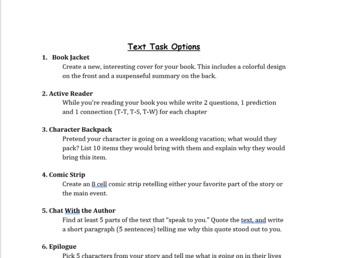 Text Tasks
